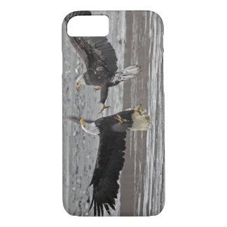 USA, Alaska, Chilkat Bald Eagle Preserve. Two iPhone 7 Case