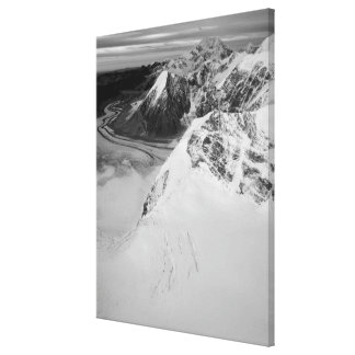 USA, Alaska, Denali National Park, Aerial view 3 Canvas Print