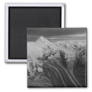 USA, Alaska, Denali National Park, Aerial view 3 Magnet
