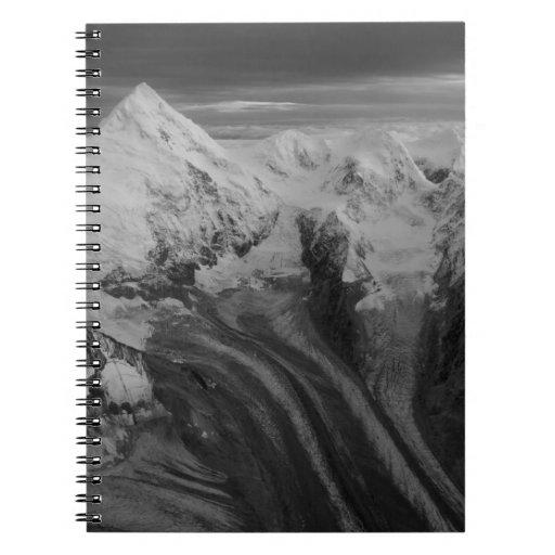 USA, Alaska, Denali National Park, Aerial view 3 Note Book