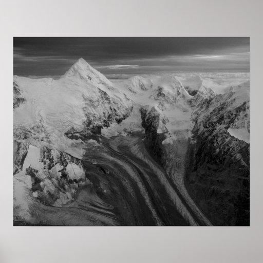 USA, Alaska, Denali National Park, Aerial view 3 Poster