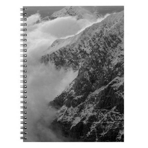 USA, Alaska, Denali National Park, Aerial view 4 Note Books