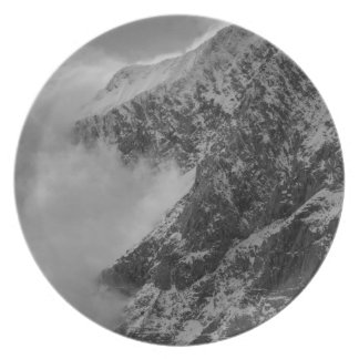 USA, Alaska, Denali National Park, Aerial view 4 Party Plate