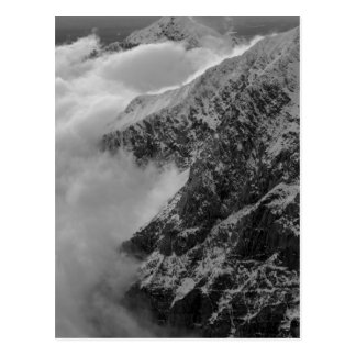 USA, Alaska, Denali National Park, Aerial view 4 Postcard
