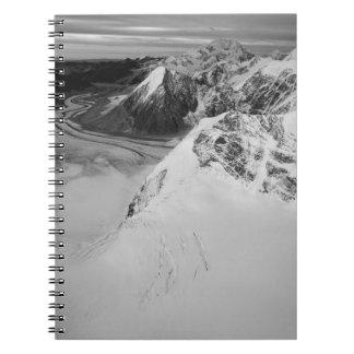 USA, Alaska, Denali National Park, Aerial view Notebook