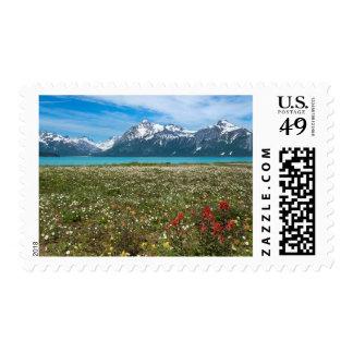 USA, Alaska, Glacier Bay National Park 2 Postage Stamp