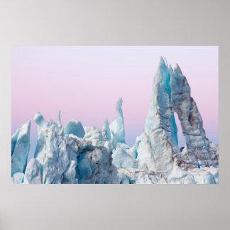 USA, Alaska, Glacier Bay National Park. Margerie Poster