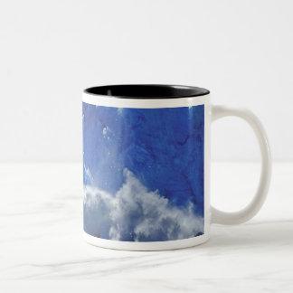 USA, Alaska, Juneau. Part of South Sawyer Two-Tone Coffee Mug