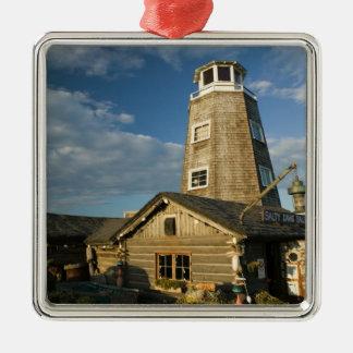 USA, ALASKA, KENAI PENINSULA, HOMER: Homer Spit Metal Ornament