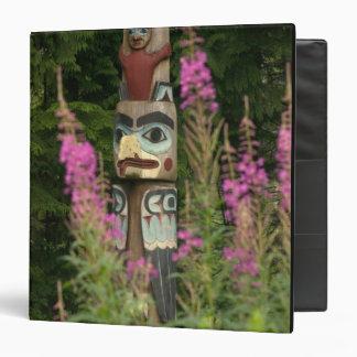 USA, Alaska, Ketchikan, Totem Bight State Binder