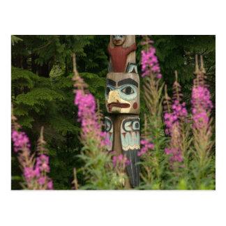 USA, Alaska, Ketchikan, Totem Bight State Postcard