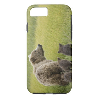 USA, Alaska, Lake Clark National Park. Grizzly iPhone 8/7 Case