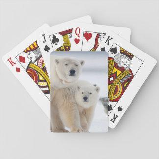 USA, Alaska, North Slope, 1002 Area 3 Playing Cards