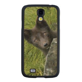 USA, Alaska, Pribilof Islands, St Paul. Blue Carved® Maple Galaxy S4 Case