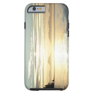 USA, Alaska, Southeast near Ketchikan, sunset. Tough iPhone 6 Case