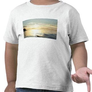 USA, Alaska, Southeast near Ketchikan, sunset. Shirts