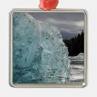 USA, Alaska, Tongass National Forest, Tracy 2 Square Metal Christmas Ornament
