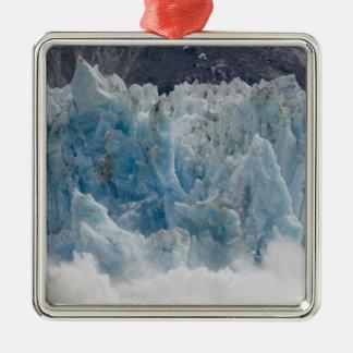 USA, Alaska, Tongass National Forest, Tracy Square Metal Christmas Ornament