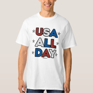USA ALL DAY - Politiclothes Humor -.png T-Shirt
