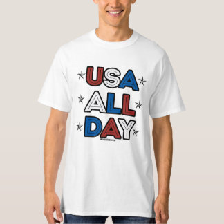 USA ALL DAY - - Politiclothes Humor --.png T-Shirt
