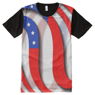 USA All-Over PRINT T-SHIRT