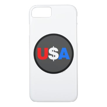 USA Themed usa all the way! iPhone 7 case