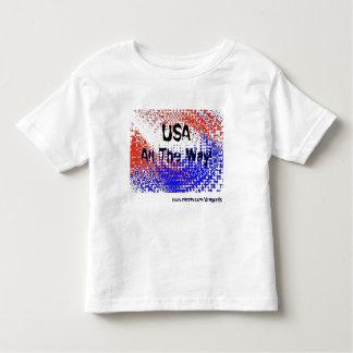 USA, All The Way! Toddler T-shirt
