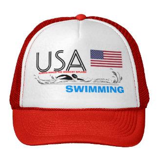 USA Always Makes the Biggest Splash Swimming Hat