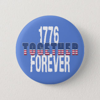 USA America Independence Day 4 th July Patriotic Pinback Button