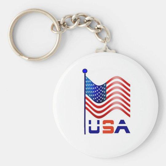 usa america keychain