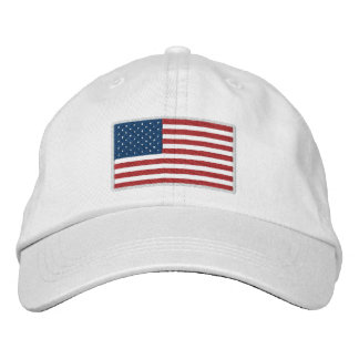 USA America Patriotic Embroidered Baseball Hat