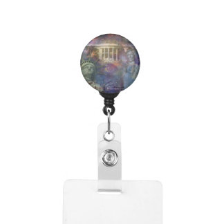USA - America the Beautiful! Badge Holder