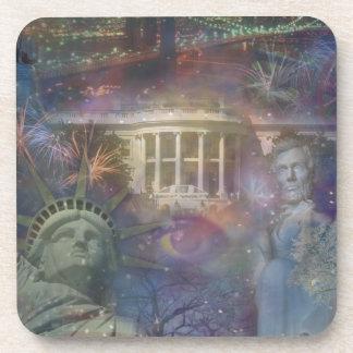 USA - America the Beautiful! Coaster