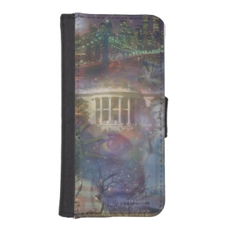 USA - America the Beautiful! iPhone SE/5/5s Wallet Case