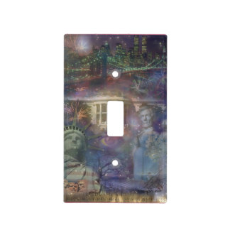 USA - America the Beautiful! Light Switch Cover