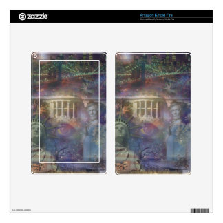 USA - America the Beautiful! Skin For Kindle Fire