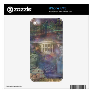 USA - America the Beautiful! Skin For The iPhone 4S