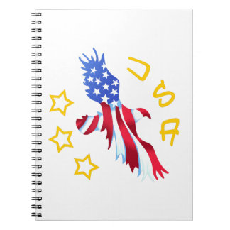 USA AMERICAN EAGLE NOTEBOOK