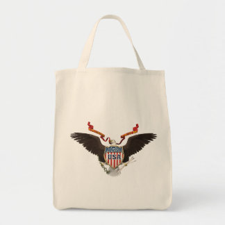 USA American Eagle Patriot Tote Bag