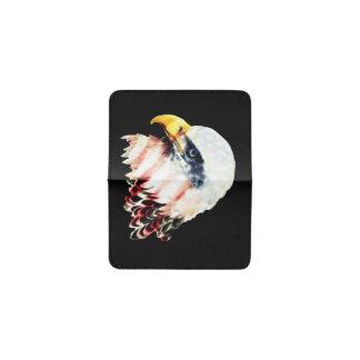 USA American Flag Bald Eagle Design Business Card Holder