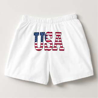 USA American Flag Boxer Shorts Boxers