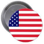 USA - American Flag Button