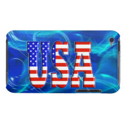 USA AMERICAN FLAG Case-Mate iPod TOUCH CASE