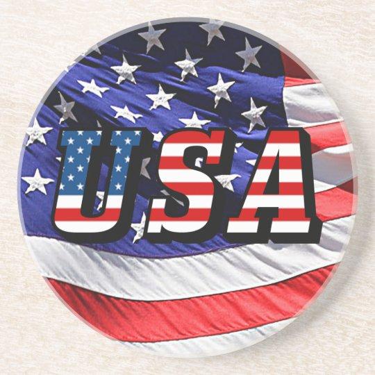 USA - American Flag Coaster