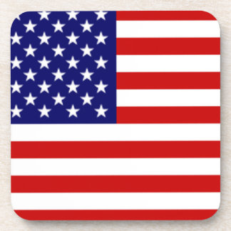 USA American Flag Coaster