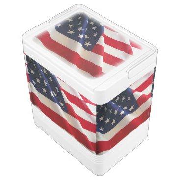 USA American Flag Cooler