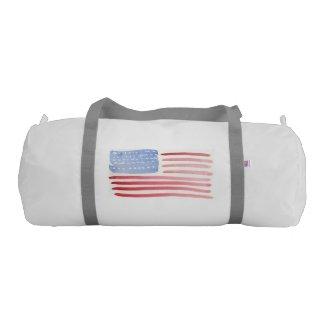 Mens Patriotic Bags USA Flag
