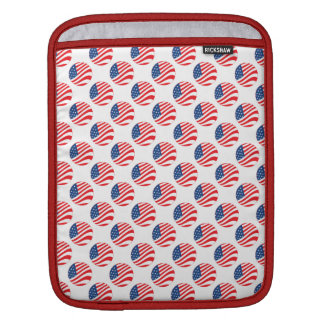 USA American Flag Fourth of July Patriotic iPad Sleeves