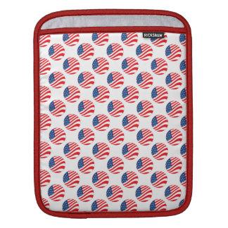 USA American Flag Fourth of July Patriotic iPad Sleeves