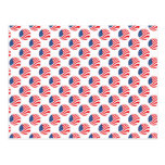 USA American Flag Fourth of July Patriotic Post Cards